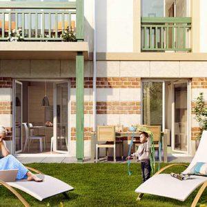 la residence des arts a deauville en d fiscalisation loi pinel. Black Bedroom Furniture Sets. Home Design Ideas