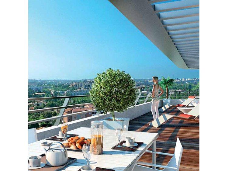montpellier villa hermes terrasse edenfisc immo. Black Bedroom Furniture Sets. Home Design Ideas